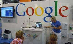 Dr. Alice Christie Speaking in the Google Booth at ISTE 2011